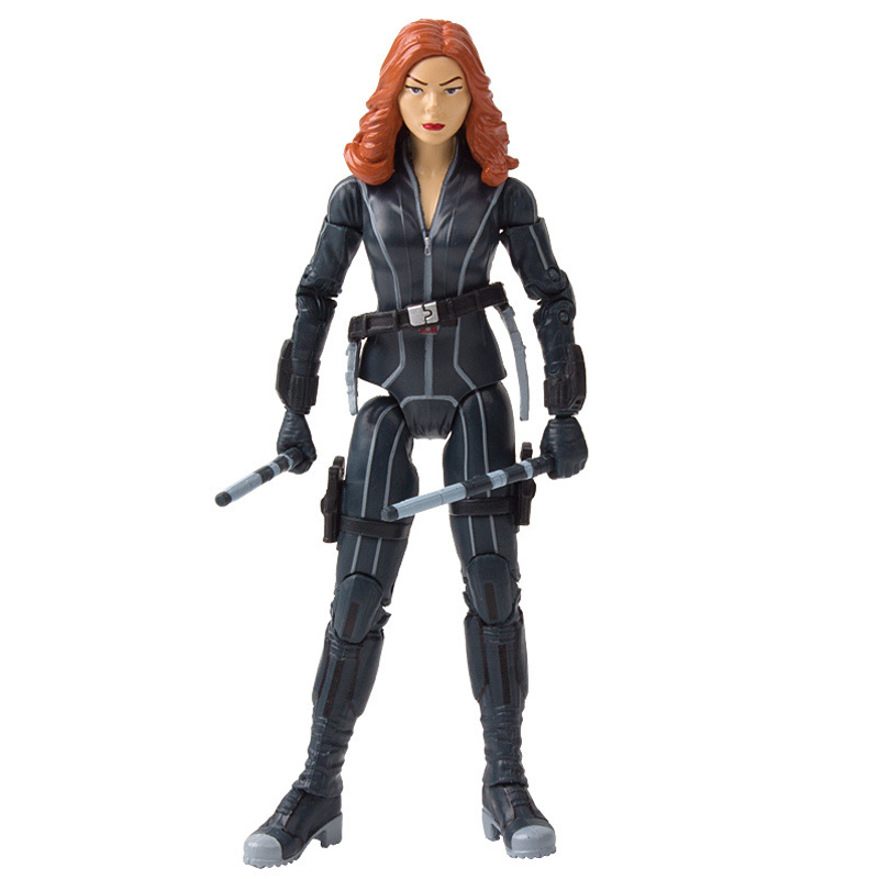"Disney 7"" PVC Avenger Alliance Anime Series Black Widow Model Toy"